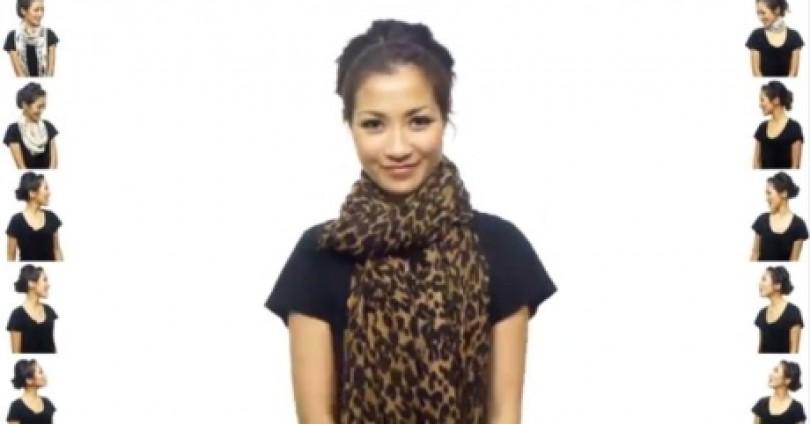 Бъдете неотразима! 25 оригинални начина да носим шала си