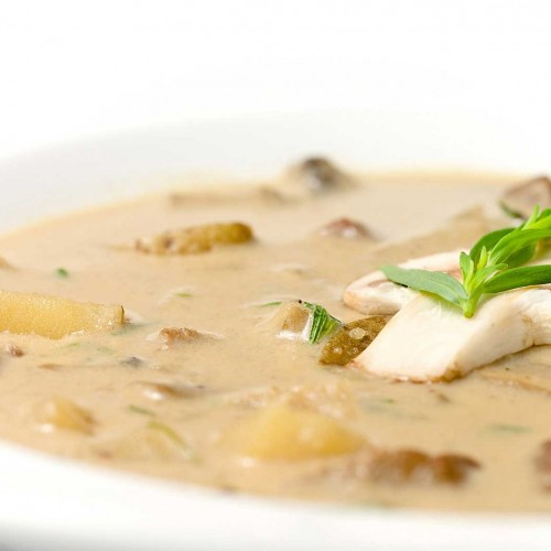 Вкусна гъбена супа