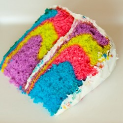Как да си направим шарен кекс?
