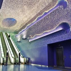Най-красивите европейски метростанции и тунели
