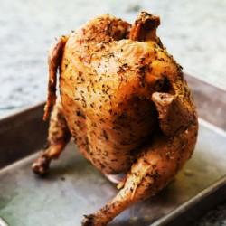 Печено пияно пиле