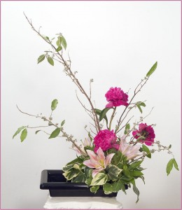 ikebana-peony-lily-a-006070