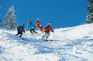 Карането на ски
