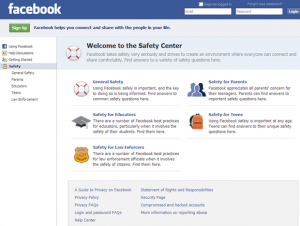 facebook-safety-center