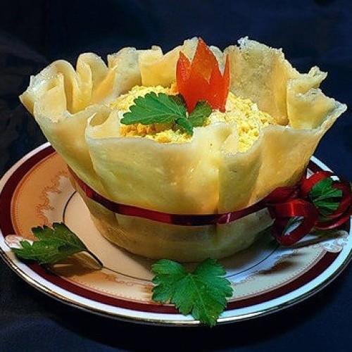 Как да си направим кашкавалена купа за салата
