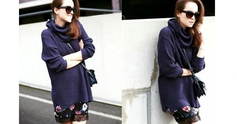 Дамски пуловер – време е да си спомним за него