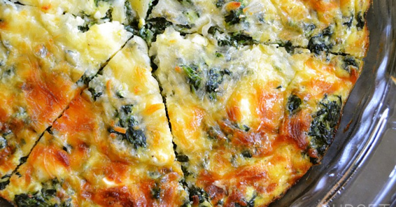 Вкусен и лесен киш от спанак, гъби и сирене