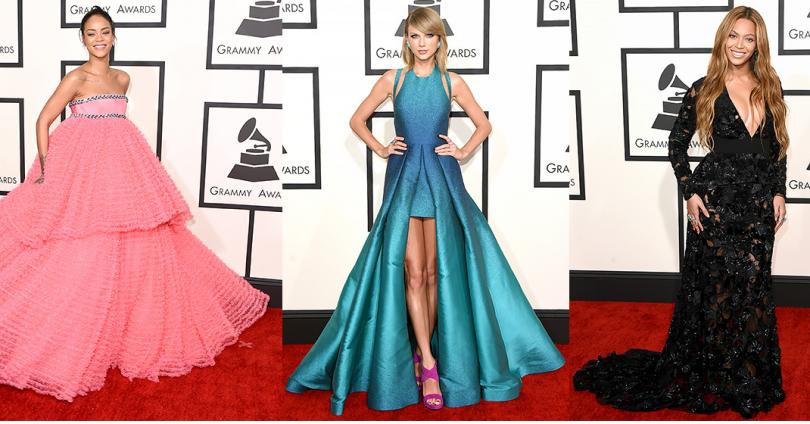 """Какво облякоха звездите за наградите """"Грами"""" 2015"""