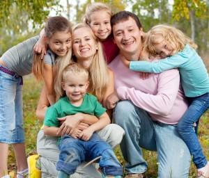многодетното семейство