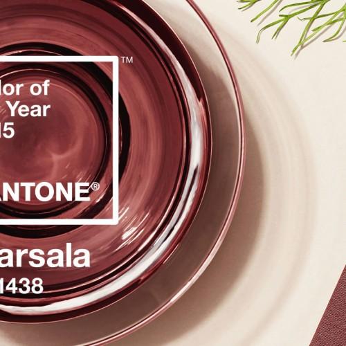 Модни тенденции 2015 – цвят Марсала и аксесоари