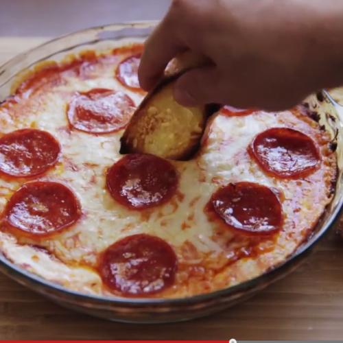 Вкусно и бързо – пица тип фондю (Pizza Dip)