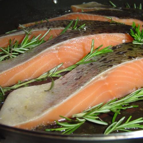 Рецепта за сьомга, риба тон или треска