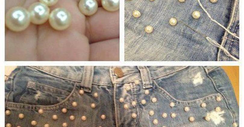 Виж как да си направиш скучните дънки по-шик за лятото.