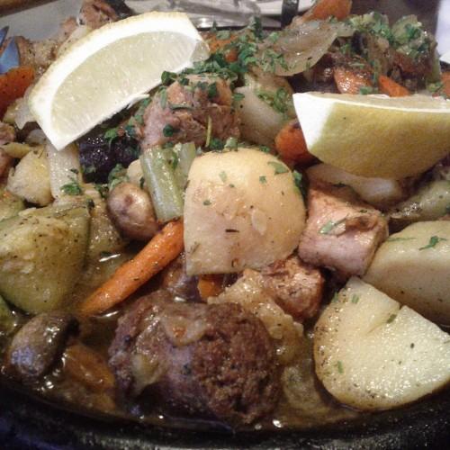 Вкусен сач със зеленчуци