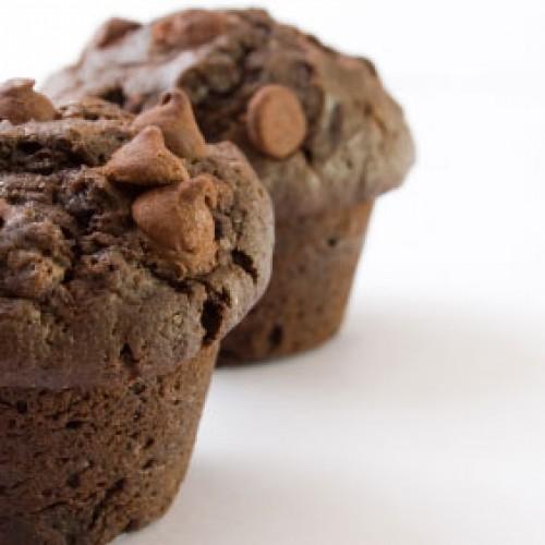 Мъфини с шоколад в 4 стъпки