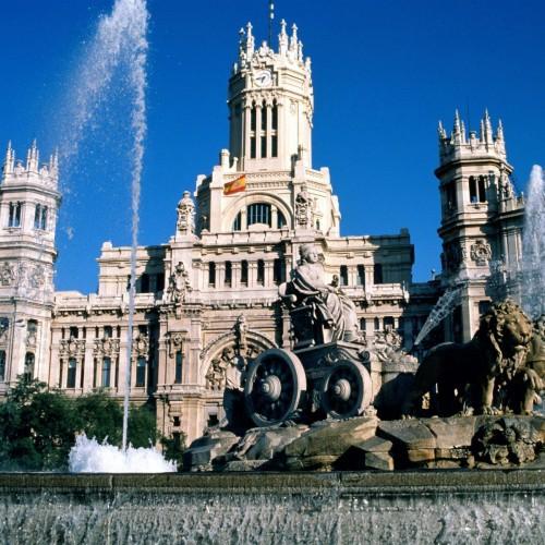 Поглед към испанската столица – Мадрид