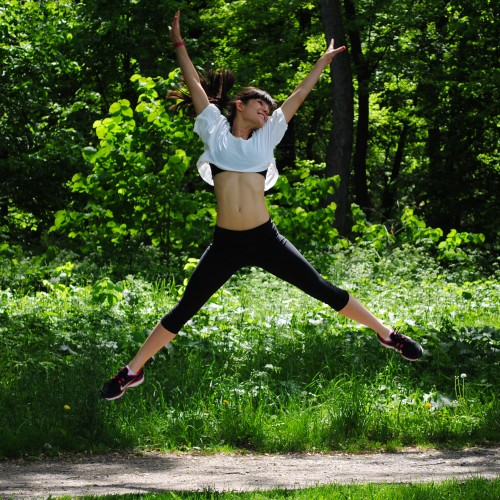 Тренировка в парка