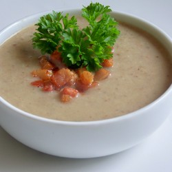 Крем супа от гъби – 10 минути
