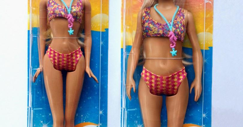 Ако Барби беше с реални пропорции…