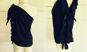 DIY-No-Sew-One-Shoulder-Shirt-11
