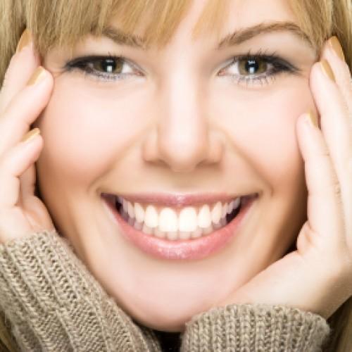 """Красива усмивка с """"подръчни материали"""""""