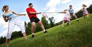 Tug of war between parents and kids