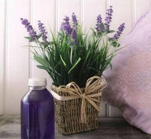 цветя вместо ароматизатор в стаите