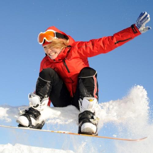 Доказаните ползи за здравето от карането на сноуборд