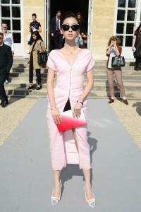 Angelababy-Christian-Dior-Spring-2014-Front-Row-600x900