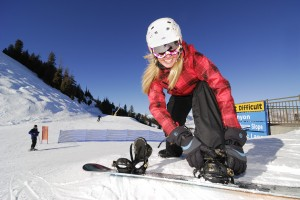 Snowboarder-Girl