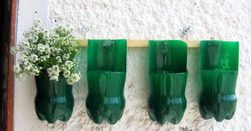 Оригинални идеи за рециклиране на пластмасови бутилки