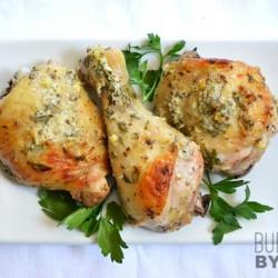 Вкусно мариновано пиле с домашен гръцки сос