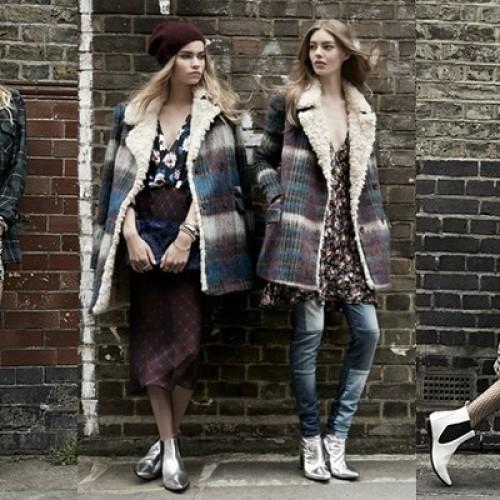 Изчистен силует или дързък принт с колекция есен/зима 2014 на Zara