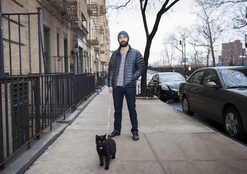 мъже и котки 1