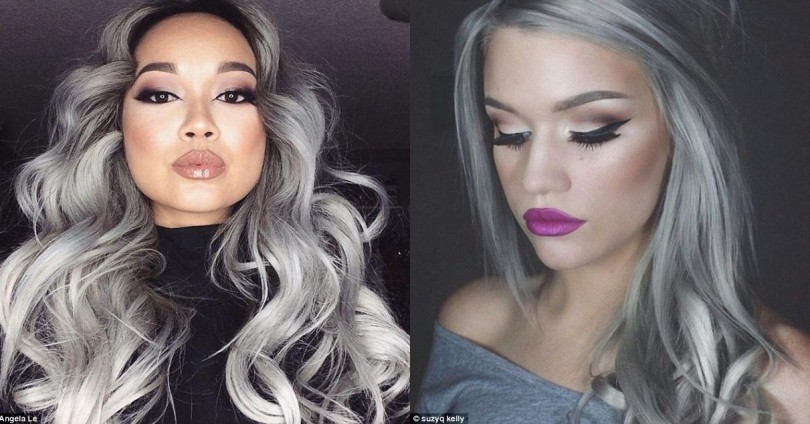 Сиви коси – последният писък на модата