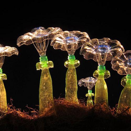 Изкуство от пластмасови бутилки