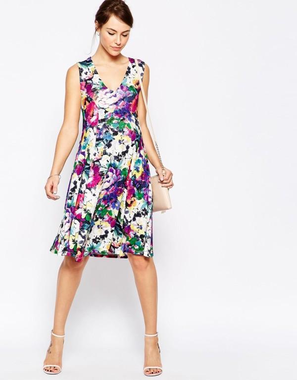 рокля с принт