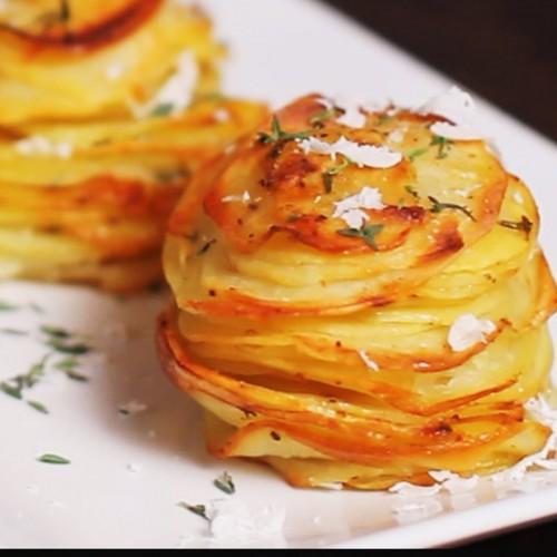 Вкусно и бързо – картофени мъфини с пармезан
