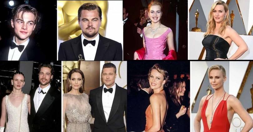 Звездите и Оскарите през годините