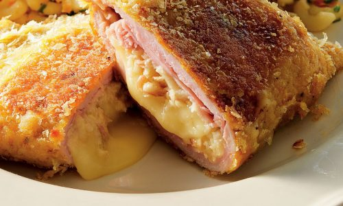 Бързо и вкусно – хрупкаво и сочно пиле Кордон Бльо
